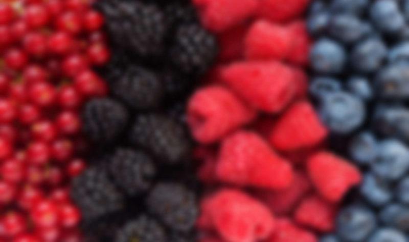 Mix of differrent berries
