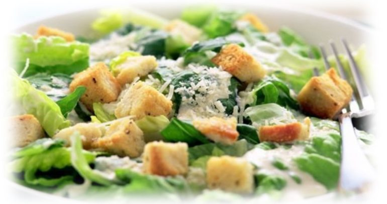 Vegetable salad with cedar nut oil