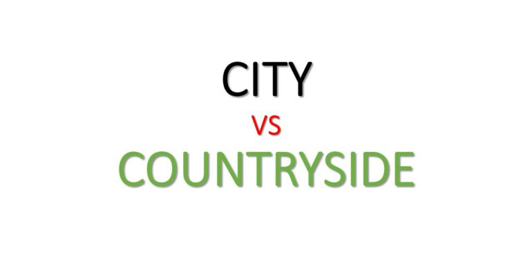 Life in the City vs. Life in the Country. Review from MITS Group of Companies