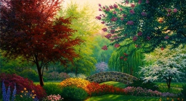 How to Create Garden of Eden on Earth (abstract, Poland)
