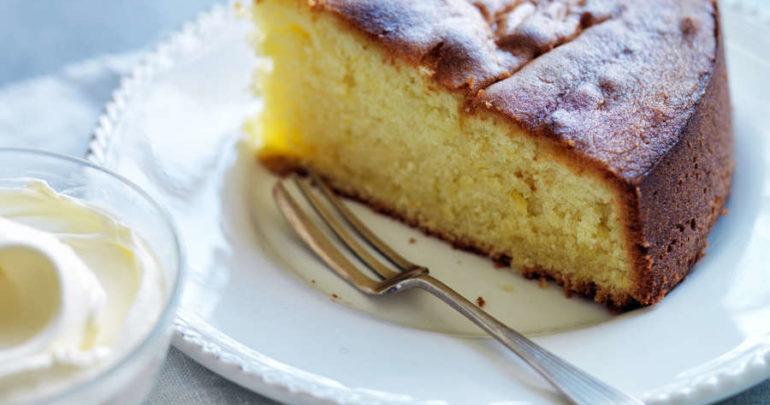 Cake with Cedar Nut Oil
